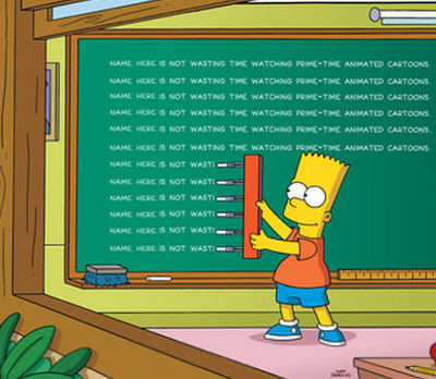 The Simpsons Personalized Calendar Gag.png