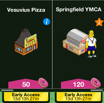 Tapped Out Level 52 Early Access.png