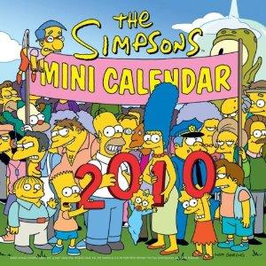 The Simpsons 2010 Mini Calendar.jpg