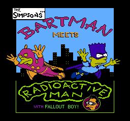 The Simpsons Bartman Meets Radioactive Man title screen.png