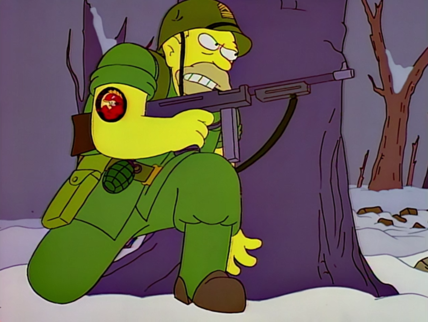 Abe Simpson Flying Hellfish.png