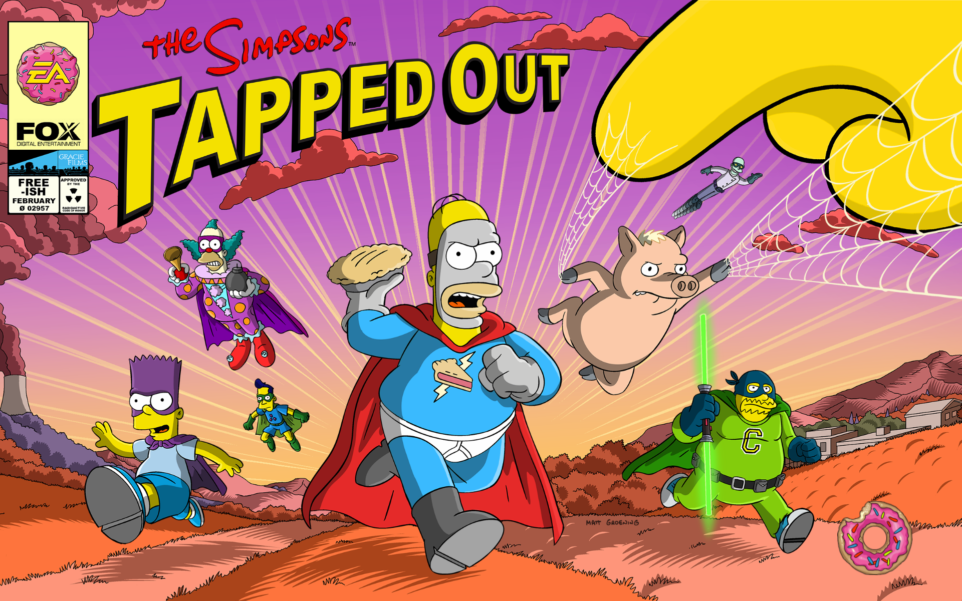 The Simpsons  Tapped Out Superheroes content update - Wikisimpsons ... 9fac534d0