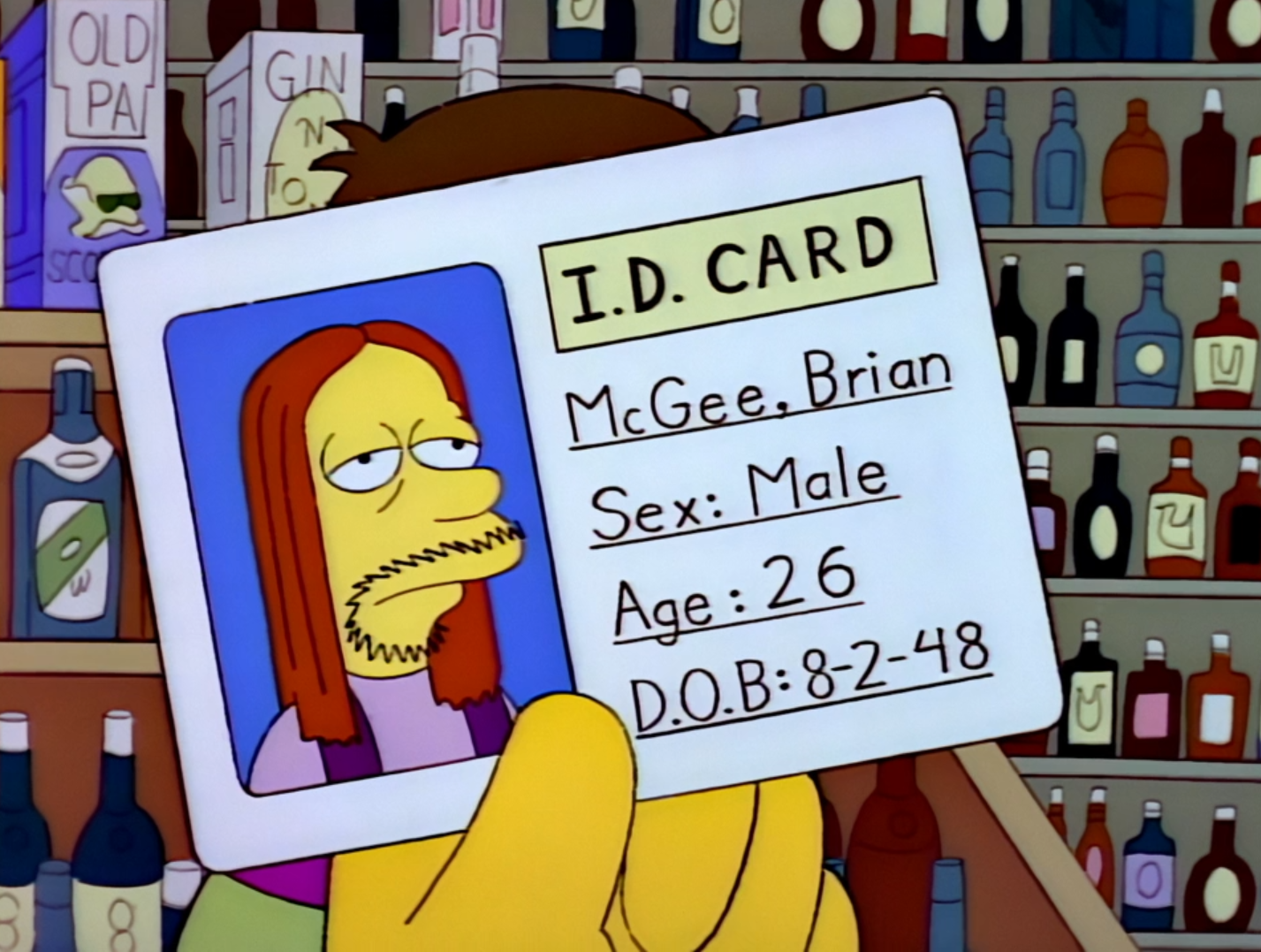 The Simpsons Brian - Mcgee Wiki Wikisimpsons