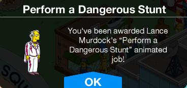 Lance Murdock Perform a Dangerous Stunt Unlock.png