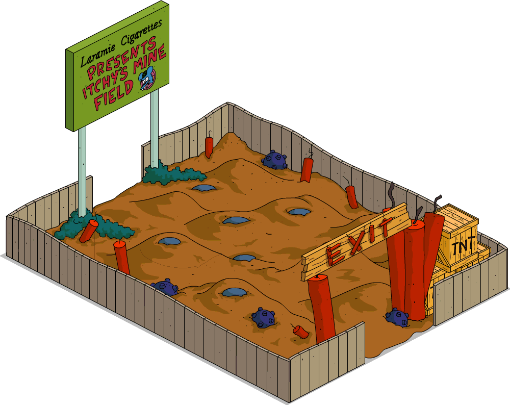 TSTO Itchy's Mine Field.png