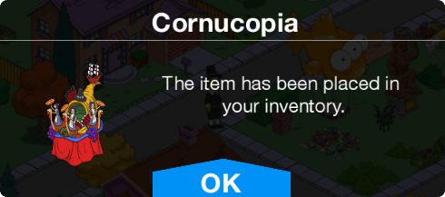 Tapped Out Cornucopia notice.png