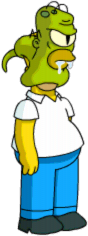 Tapped Out Rigellian Attacking Homer.png