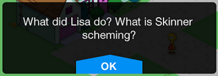 Tapped Out Yellow Subterfuge Tie-in Message.png