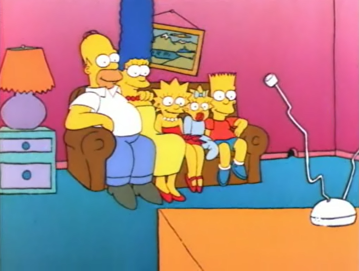 The Call of the Simpsons - couch gag.png