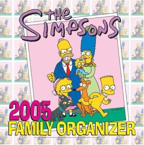 The Simpsons 2005 Family Organizer.jpg