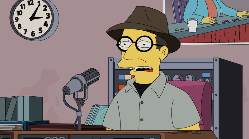 Homer is to appear live on The Simpsons!