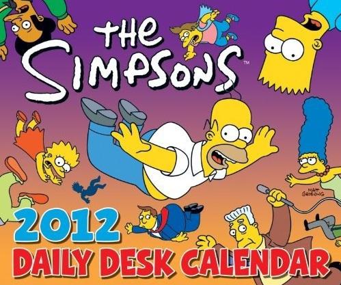 The Simpsons 2012 Daily Desk Calendar.jpg