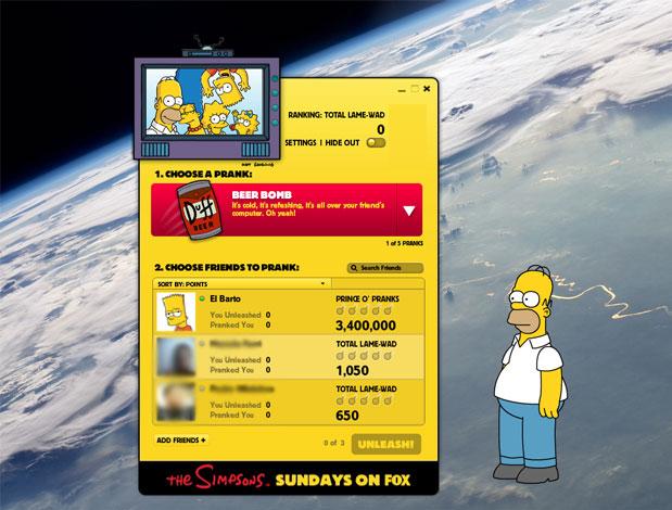 The Simpsons Unleashed desktop.png