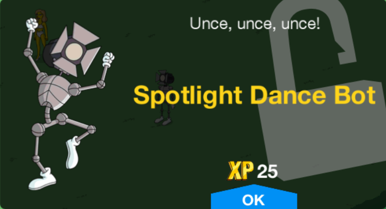 Spotlight Dance Bot Unlock.png