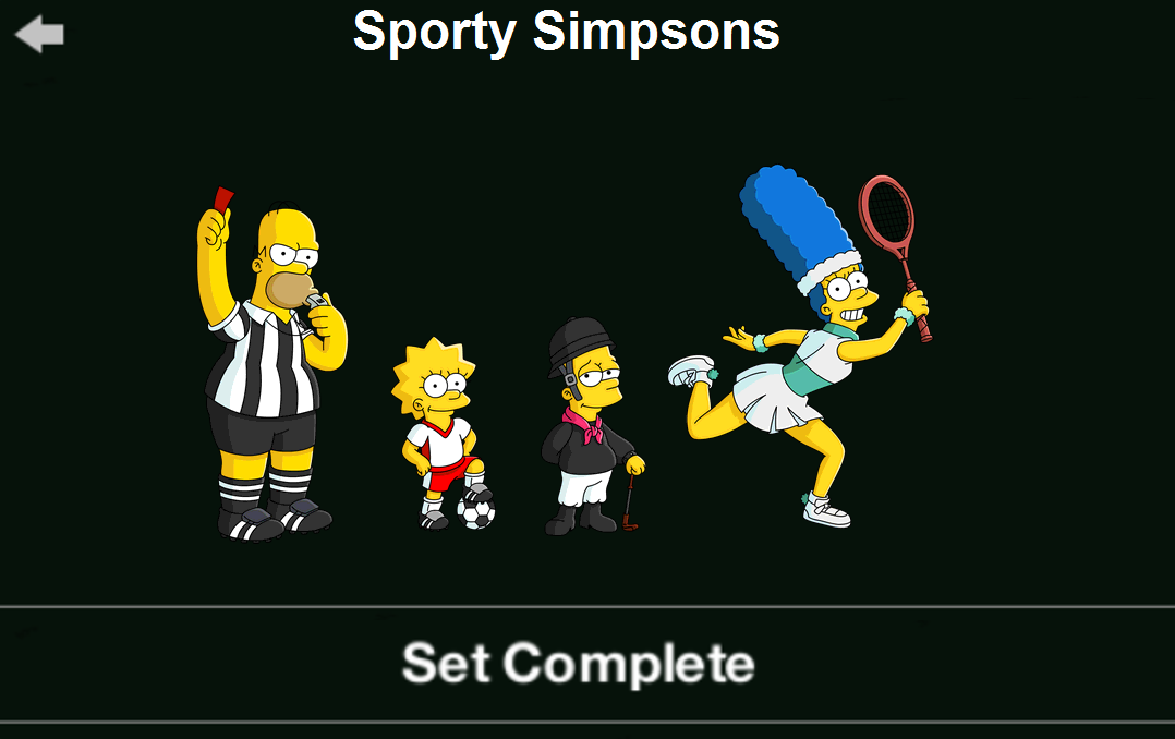 Sporty Simpsons
