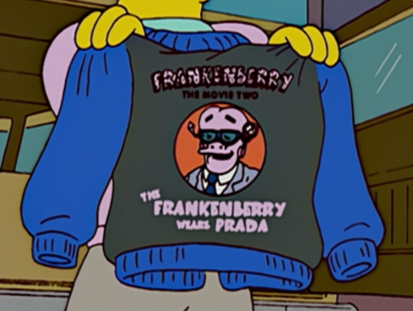 Frankenberry the Movie 2 The Frankenberry Wears Prada.png