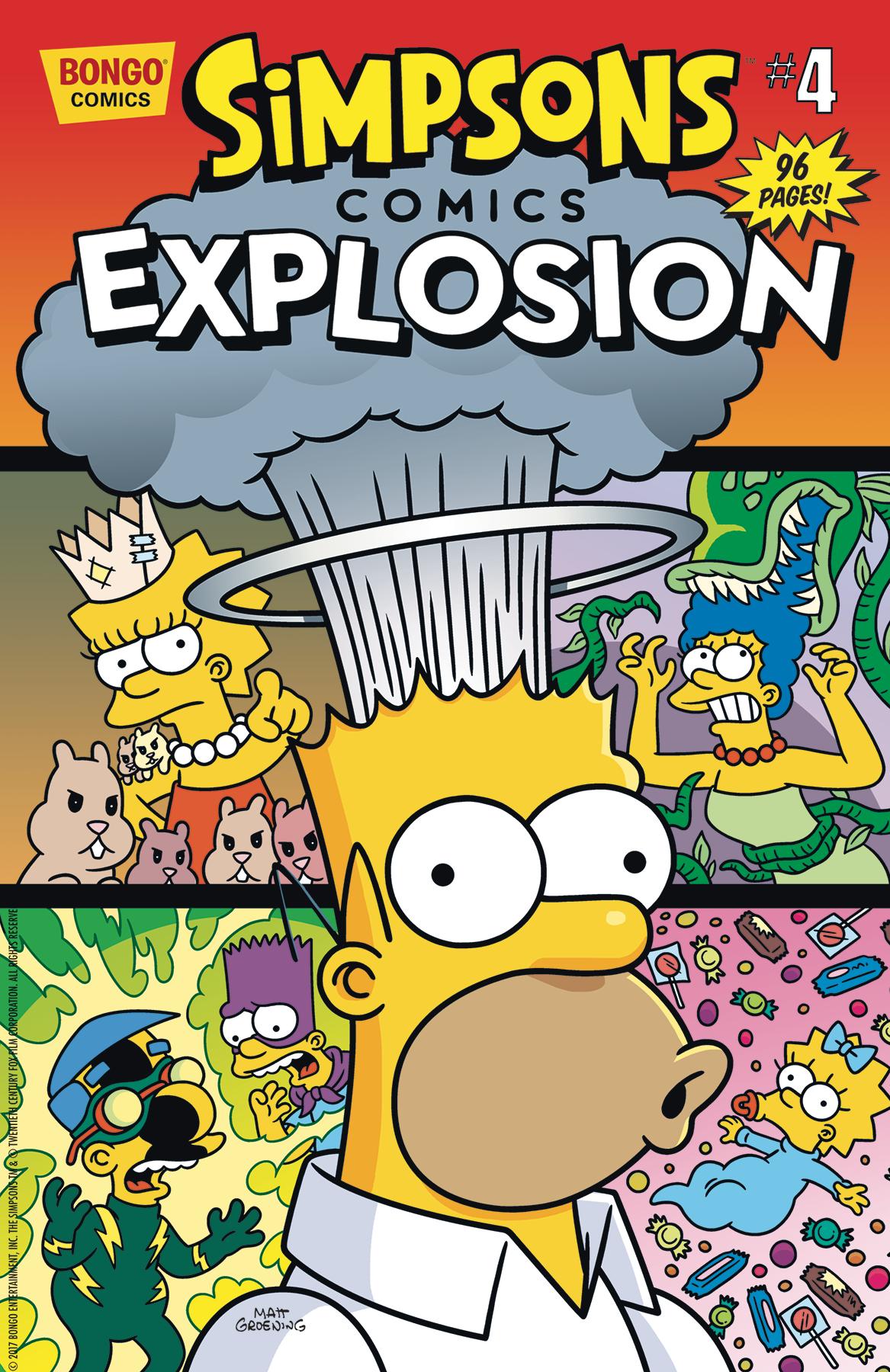 Simpsons comic xxx