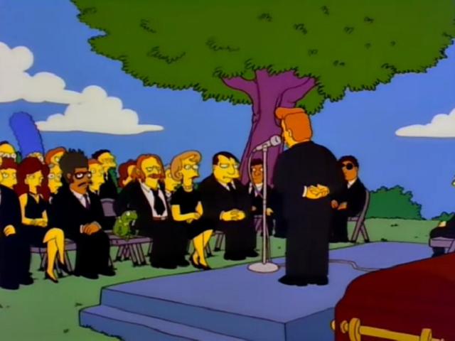 Kermit Simpsons Funeral.png