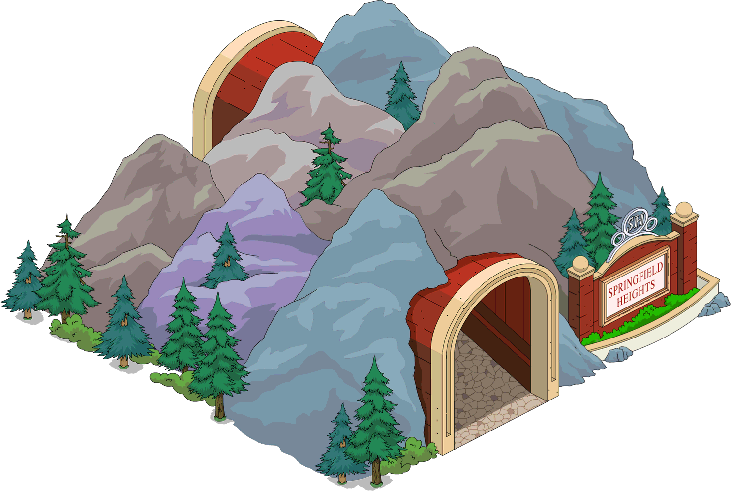 Tapped Out Springfield Heights Tunnel.png