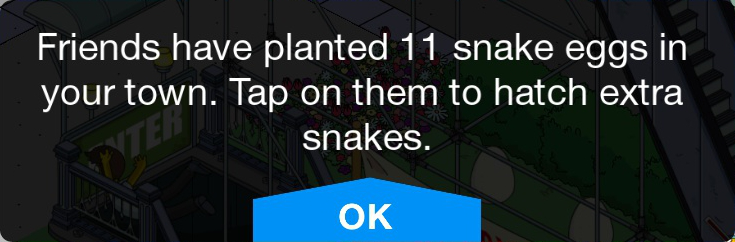 Tapped Out 'Planted Eggs' Notice.png