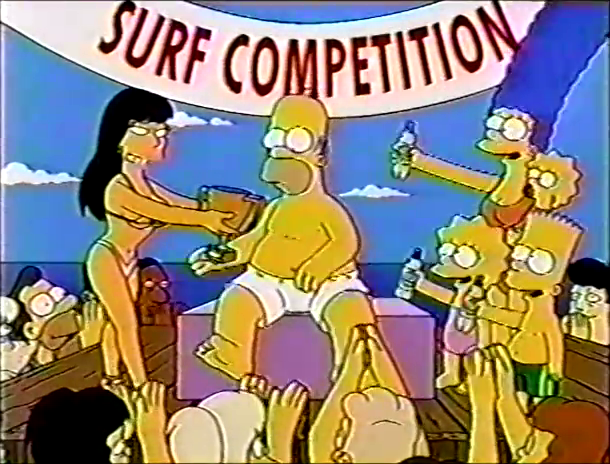 Bart Surfing at the Beach.png