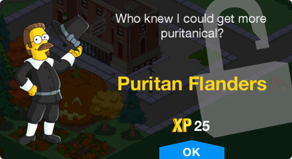 Tapped Out Puritan Flanders unlock.png