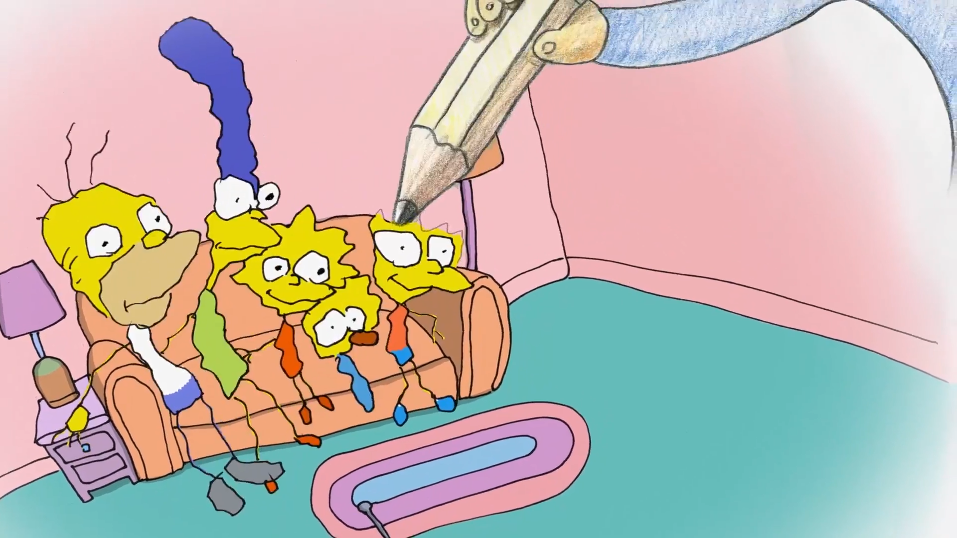 Bill Plympton couch gag 22 for 30.png