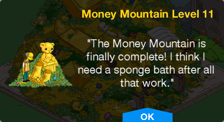 Tapped Out Money Mountain Level 11.png