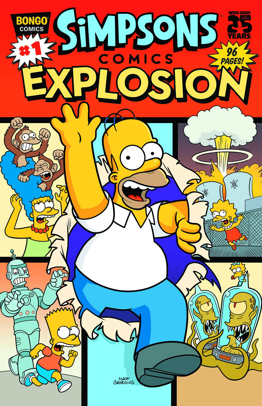Simpsons Comics Explosion 1 Wikisimpsons The Simpsons Wiki