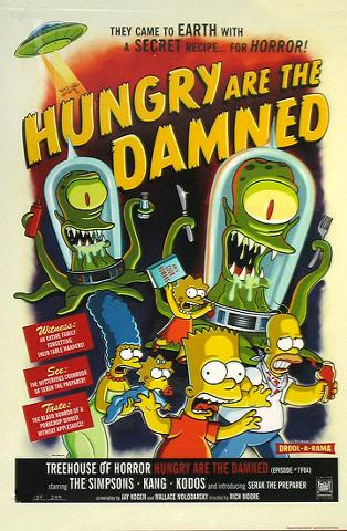Treehouse of Horror - Hungry are the Damned poster.jpg