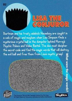 B2 Lisa the Conjuror (Skybox 1994) back.jpg