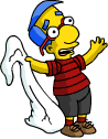 Tapped Out Milhouse Hang Out with Grand Pumpkin.png