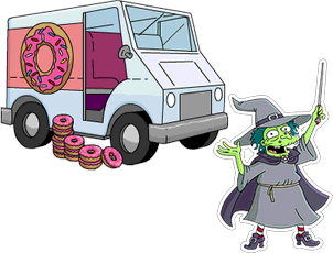 Truckload of 300 Donuts and Witch.png