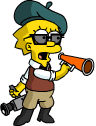 Tapped Out LisaFilmmaker Boss Around the Crew.png