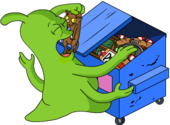 Tapped Out Space Mutant Eat From a Dumpster.png