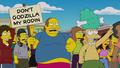 Don't Godzilla My Rodin! sign.png