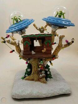 Simpsons Christmas Village Treehouse.jpg