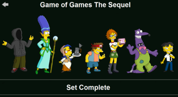 The Simpsons: Tapped Out characters/Game of Games The Sequel