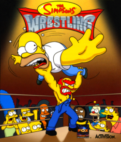 The Simpsons Wrestling.png