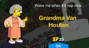 Grandma Van Houten Unlock.png