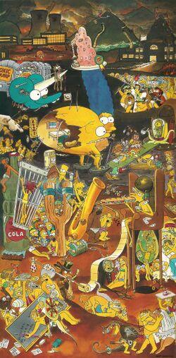 Simpsons 1995 Calendar Simpsons.jpg