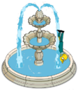 Tapped Out Mr. Burns Fall into the Fountain.png