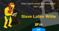 Tapped Out Slave Labor Willie unlock.png