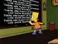 The Boy Who Knew Too Much - chalkboard gag.png