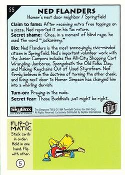 S5 Ned Flanders (Skybox 1994) back.jpg