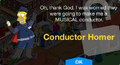 Conductor Homer Unlock.png