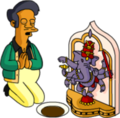 Tapped Out Apu Pray to Ganesh.png