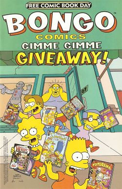 bongo comics free for all wikisimpsons the simpsons wiki