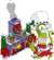Mrs. Kodos Claus and Rigellian Christmas Fireplace.png