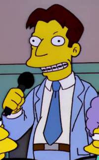 Man With The Braces Wikisimpsons The Simpsons Wiki